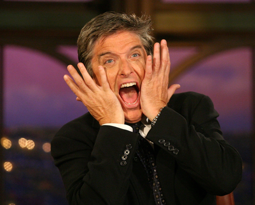 The face Craig Ferguson makes when he thinks of Liza Minnelli.  Or is it the other way around?
