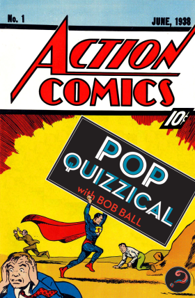 Without superpowers, PopQuizzical doesn't fare very well against Superman.